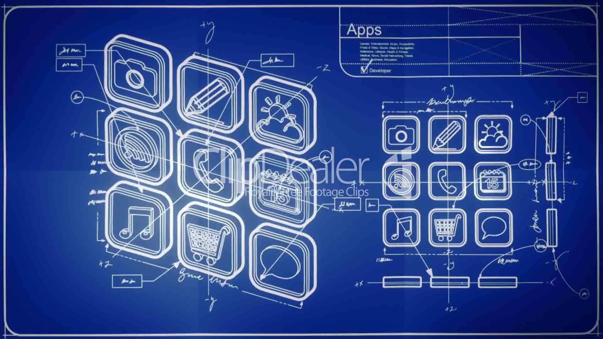 Synergic links for App for blueprints